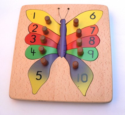 MT025 Butterfly Number Puzzle